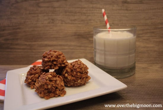 coconut pb no bakes Coconut Peanut Butter No Bake Cookies