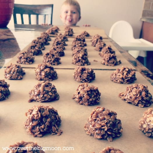 no bake cookies Coconut Peanut Butter No Bake Cookies