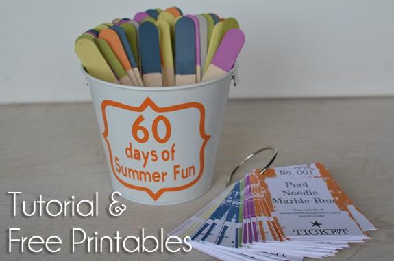 60 summer fun button 60 days of Summer Fun w/ Printable Cards!