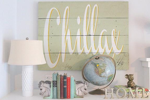 chillax sign