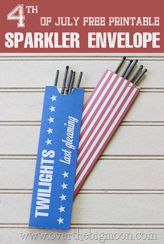 sparklerenvelope4 thumb 4th of July Sparkler Holder Printable