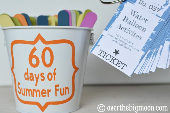 summer activities 60 days of Summer Fun w/ Printable Cards!