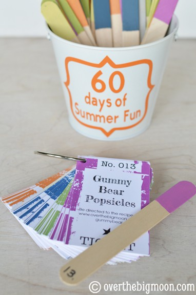 summer fun 60 days of Summer Fun w/ Printable Cards!