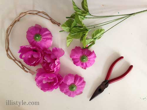 Floral Headband Instructions - illistyle.com