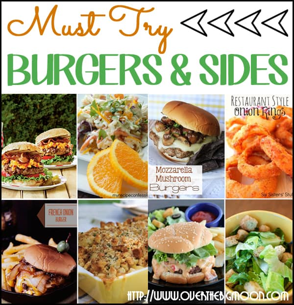 Must Try Burgers Button Must Try Burgers and Sides