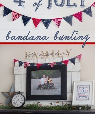 Bandana 4th of July Bunting