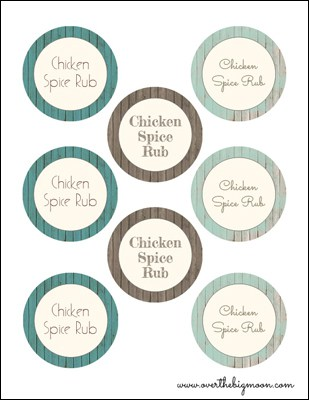 Chicken Spice Rub Small1 Under $5 Friend Gift: Chicken Spice Rub + Blog Hop