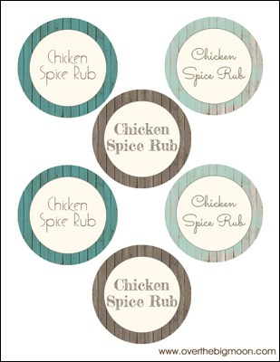 Chicken Spice Rub Wide Small Under $5 Friend Gift: Chicken Spice Rub + Blog Hop