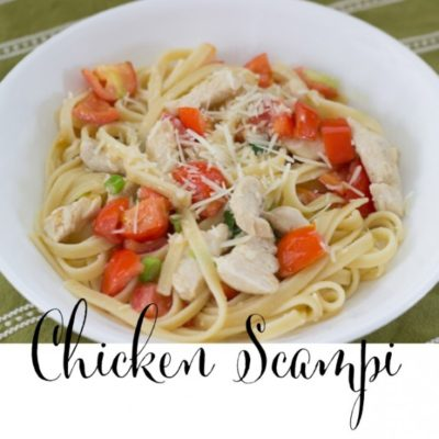 Chicken Scampi