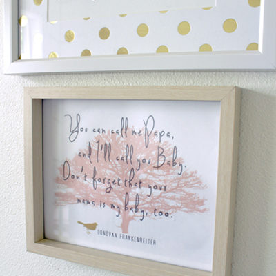 3 In 1 DIY Nursery Print