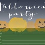 Printable Halloween Party Invitation - illistyle.com