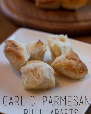 Garlic Parmesan Pull Apart Rolls