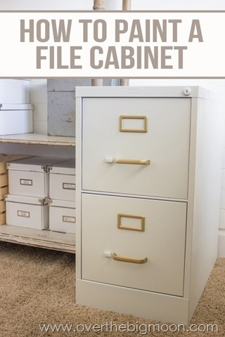 diy file cabinet desk tutorial over the big moon rh overthebigmoon com how to make a filing cabinet lock how to make a filing cabinet desk