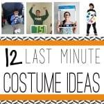 12 last minute costumes