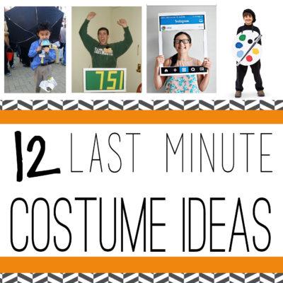 12 Last Minute Halloween Ideas