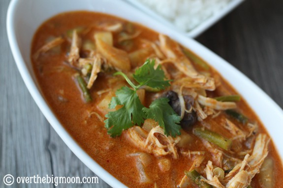 cinnamon curry Thai Coconut Chicken Curry
