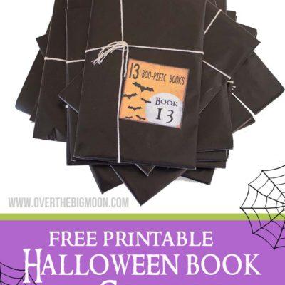 Halloween Book Countdown