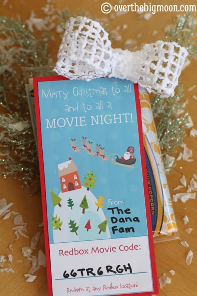 Redbox Neighbor Gift::Bloggers Best 12 Days of Christmas - The ...