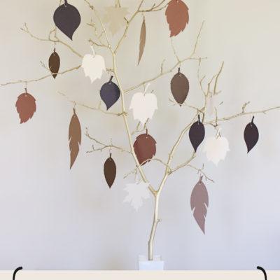 Beautiful Gold Thankful Tree