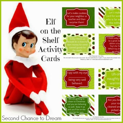 30 Printable Elf On The Shelf Ideas Over The Big Moon