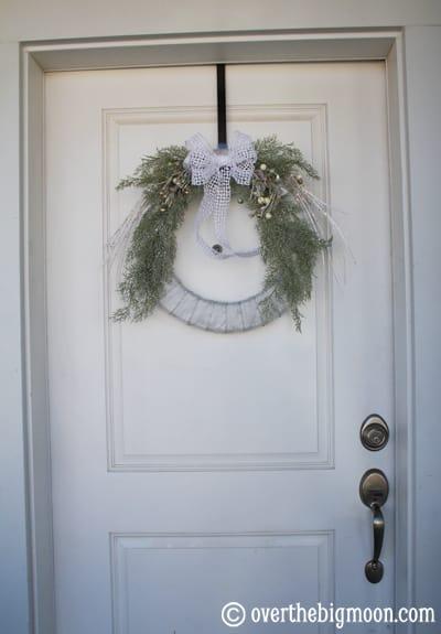 Easy Winter Wreath Over The Big