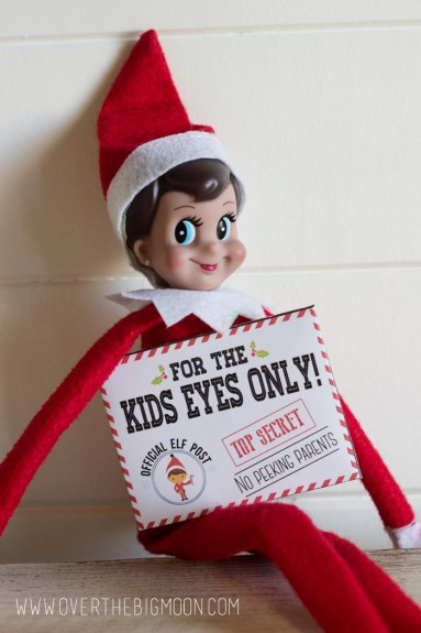 elf on the shelf envelopes1