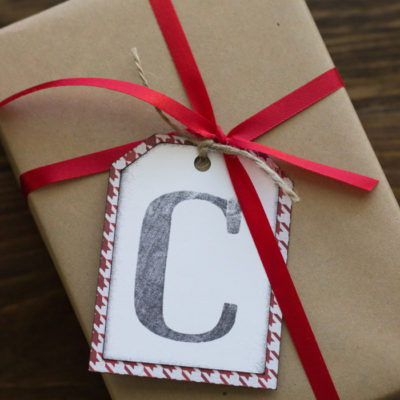 Make Personalized Stamps and Gift Tags