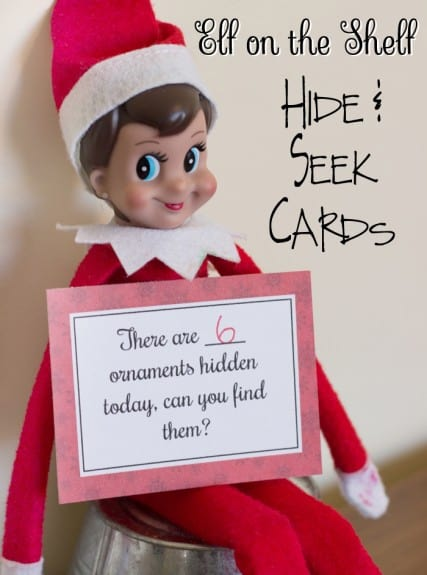 hide and seek cards7 427x575 Free Printable Elf on the Shelf Hide and Seek Cards