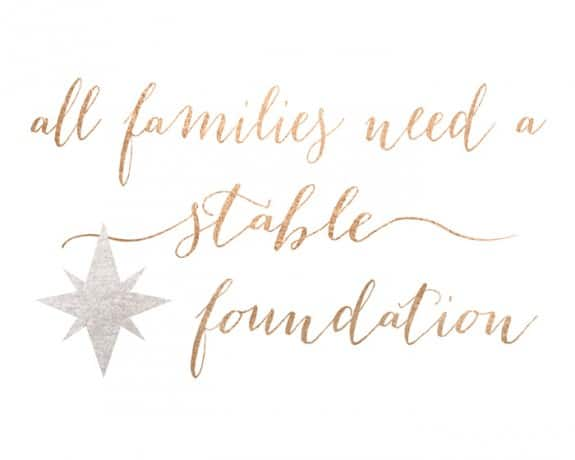 stable foundation gold