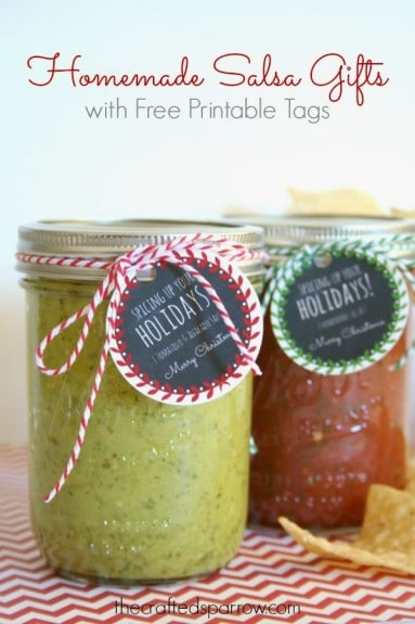 Homemade Salsa Gifts
