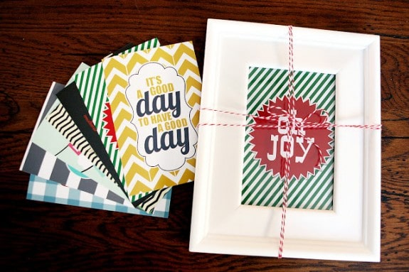 A Year Long of Decorative Printables - a fun gift idea for teachers!