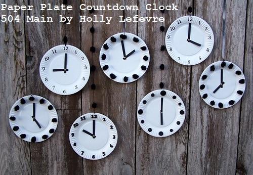 paper plate clock all display 2 wm