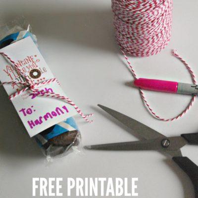 Donut Valentine Idea and Free Printable