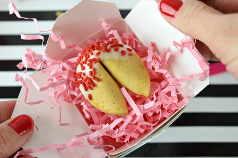 DIY Fortune Cookie Valentine Over The Big Moon