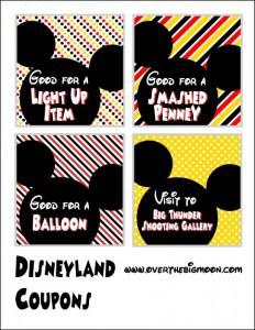 Disneyland-Coupons