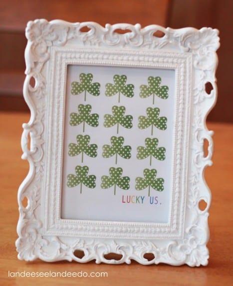 Lucky+Us+Printable+framed