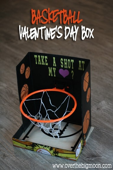 Basketball Valentine Day Box