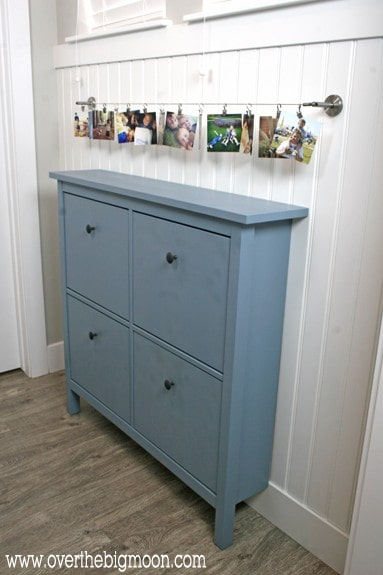 diy ikea mudroom