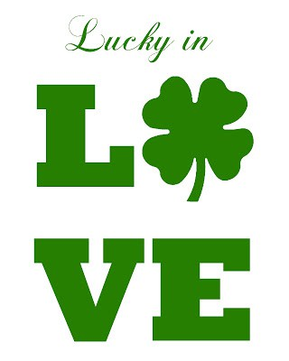 lucky in love green words