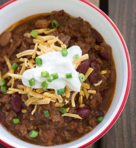 The Best Three Meat Chili Recipe Over The Big Moon
