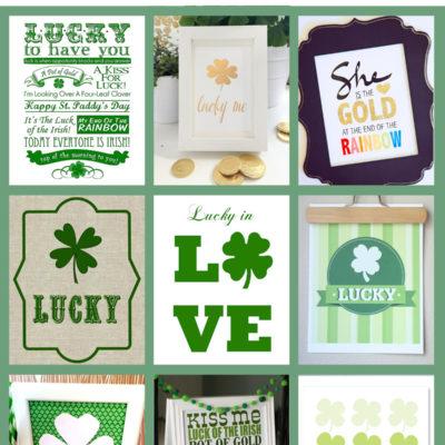15 Free Saint Patrick's Day Prints