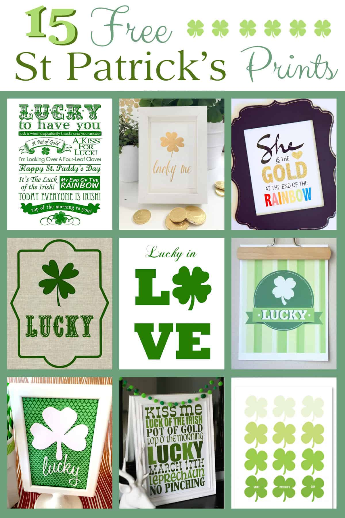 15 free saint patrick u0027s day prints over the big moon