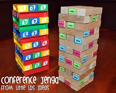 Conference Jengga