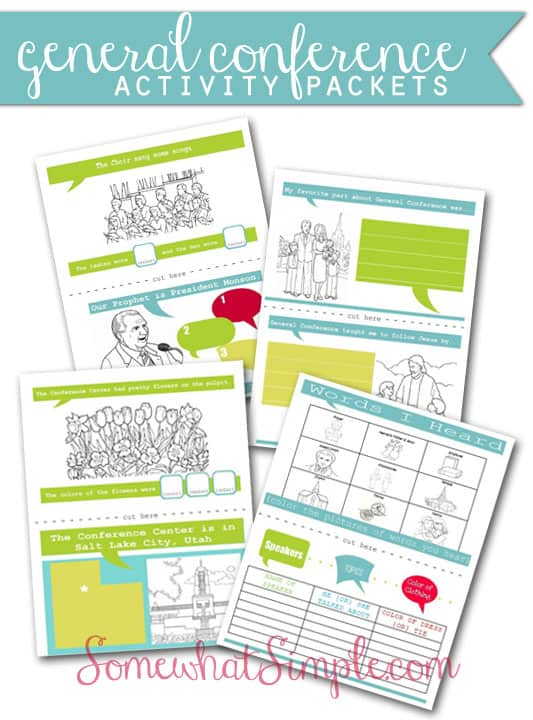 General Conference Printables And Ideas For Kids Over The Big Moon