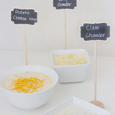 1 Recipe - 3 Different Chowders!