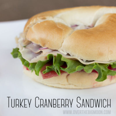 The BEST Turkey Cranberry Sandwich + Crock Pot Cranberry Sauce Recipe