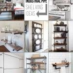 Creative Pipe Shelving Ideas