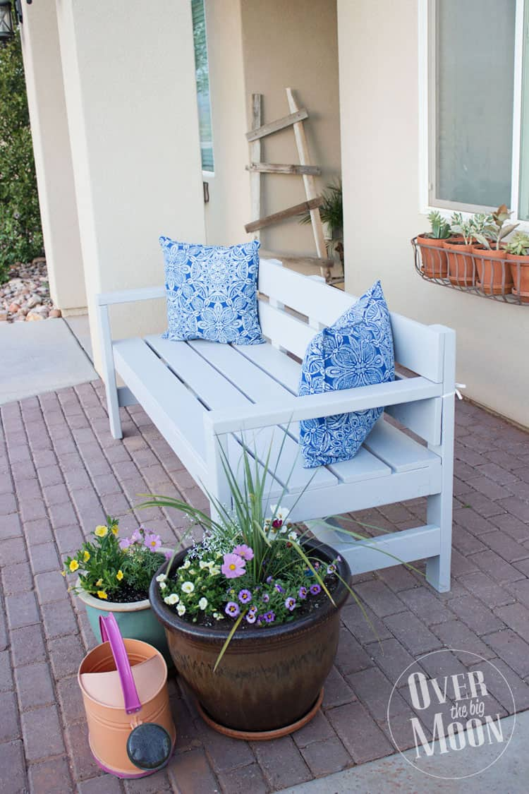 Let The Summertime Porch Parties Begin Diy Bench20