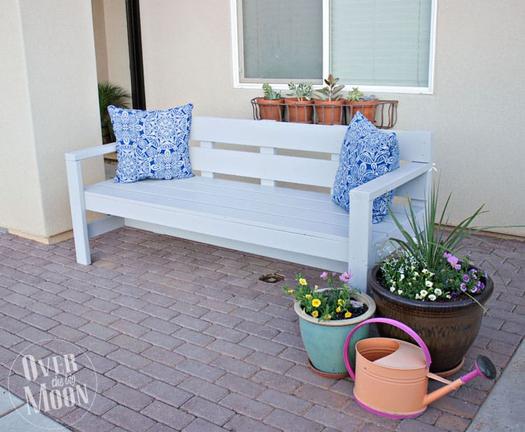 Diy Front Porch Bench