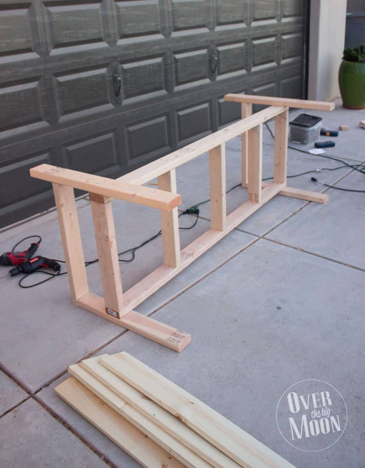 diy outdoor bench with back outdoor ideas